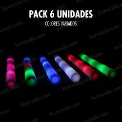 Palos LED - Pack de 6