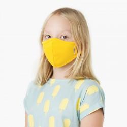 Amarelo - Máscara higiénica...