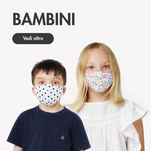 faccia di bambino-maschera